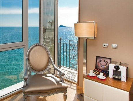 Presidential Suite 'Sea View' Отель Villa Venecia Boutique Бенидорме