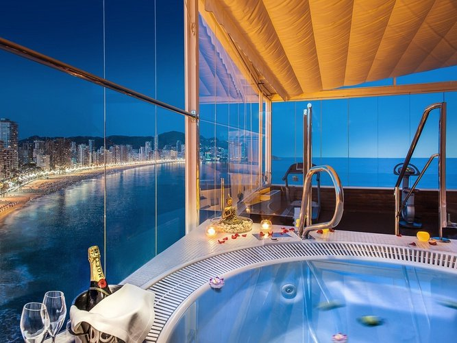 Sunset Gym & Spa Отель Villa Venecia Boutique Бенидорме