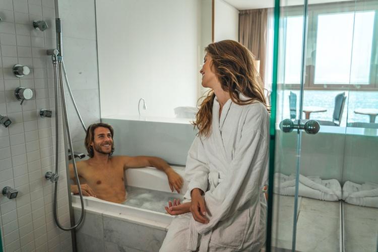 Ванная комната Отель villa venecia boutique бенидорме