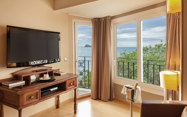 Deluxe junior suite 'sea view' Отель villa venecia boutique бенидорме