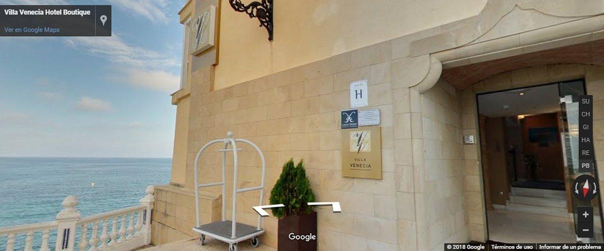 виртуальный тур Отель Villa Venecia Boutique Бенидорме