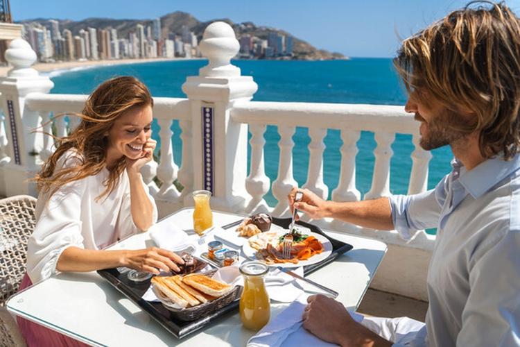Завтрак Отель villa venecia boutique бенидорме